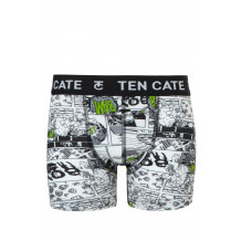 Ten Cate Boys short Strip Black
