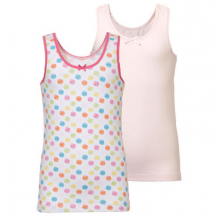 Ten Cate 2-pack Girls Singlet Basic
