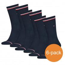 Tommy Hilfiger Sokken 6-pack Iconic Dark Navy