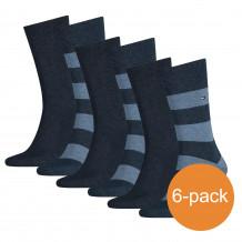 Tommy Hilfiger Sokken Heren 6-pack Rugby Jeans