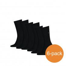 Tommy Hilfiger Sokken Heren 6-pack Classic Black