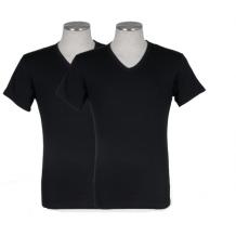 Puma 2-pack V-Neck T-shirt Zwart | T-shirts