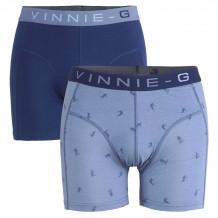 Vinnie-G boxershorts Ski Dark - Print 2-pack