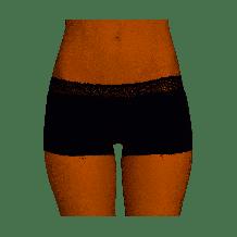 Sloggi Wow! Lace Short Zwart