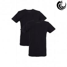 Vinnie-G t-shirt zwart rond hals 2