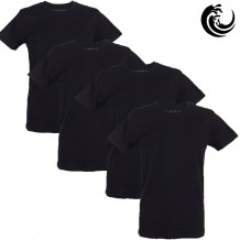 Vinnie-G t-shirt zwart 4-pack