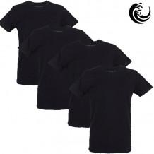 Vinnie-G t-shirt zwart 4-pack