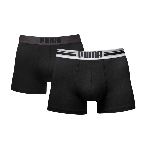 Puma PLACED LOGO Black 2-pack