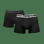 Puma PLACED LOGO Black 2-pack