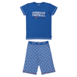 Lief! Boys shortama 3/4 4534 Check