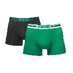 Puma PLACED LOGO Green 2-pack