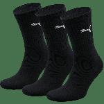 Puma Sportsokken Zwart 3-pack