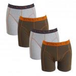 Vinnie-G boxershorts Military Olive Uni 4-pack