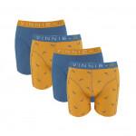 Vinnie-G boxershorts Wakeboard Blue - Print 4-pack
