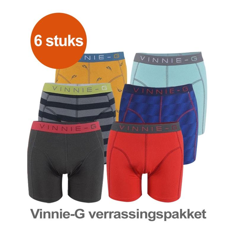 Vinnie G Boxershort Verrassingspakket 6 pack S