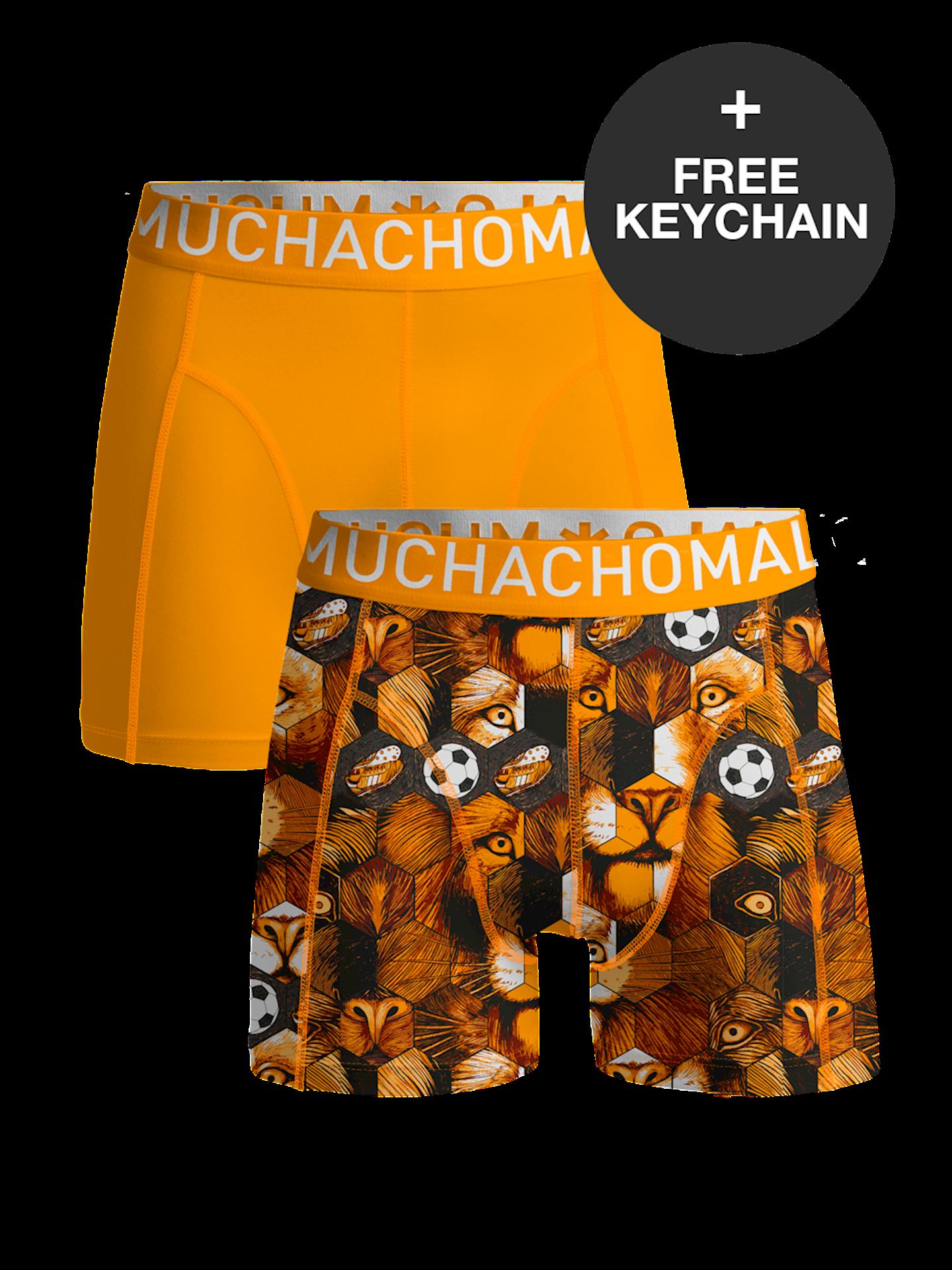 Muchachomalo boxershorts Oranje EK 2021 editie XL